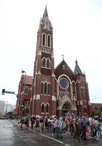 Sacred Heart Cathedral on Ross AvenueFile 2010  -  Staff