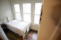 This small room is part of the house where Lee Harvey Oswald was living at the time of the assassination of President John F. Kennedy.