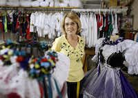 """""""We're just going to have to cry on each other's shoulders and put it in the hands of the Lord. That's all we can do,"""" says dressmaker  Maggie Grmela."""