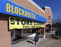 Blockbuster is closing all of its company-owned stores in the next month, including one in Allen.