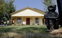 Congrove's new home is one of seven McKinney homes that are part of Habitat for Humanity International's nationwide homebuilder blitz campaign.