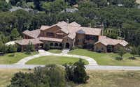 Saturday, July 16, 2011 aerial view of the Westlake home, which according to Tarrant Appraisal District records is owned by Chuck Greenberg, former CEO of the Texas Rangers who helped lead a group that purchased the team from Tom Hicks and later handed over the reins to Nolan Ryan.