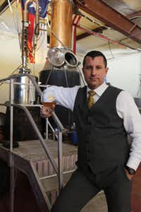 Former Marine Quentin Witherspoon developed his skills as a distiller while serving overseas and working stateside as a military contractor.