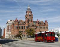 2. Old Red (1892): The powerful, Richardsonian romanesque red-brick courthouse gives a solidity to a downtown skyline that often seems as ephemeral as a balloon. That it remains is a testament to the Dallas preservation movement, which celebrates its 40th anniversary this year.