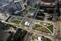 Klyde Warren Park, a $110 million project, was funded through a public-private partnership. About half came from the public, including $20 million in city bonds, $20 million in state highway funds and $16.7 million in stimulus funds. The rest of the funding came from private donors, including the Boone Family Foundation, Sheila and Jody Grant, Lyda Hill, the family of Ruth Ray Hunt and Amy and Kelcy Warren.