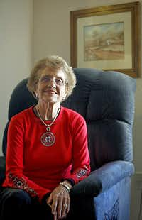 """Betty Westbrook, 82, of Allen says Obama has threatened the nation's values: """"His policies have robbed us of our future — what little we had left."""""""