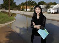 """In the grand scheme of things, it's only a tiny fraction of the population that became infected,"" says Dr. Wendy Chung, chief epidemiologist for Dallas County Health and Human Services. ""But it's the severe cases that are our main focus. It's a more reliable indication of the intensity of activity in an area."""