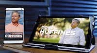 Dallas real estate developer Don Huffines is blasting longtime Dallas Sen. John Carona, comparing his Republican primary opponent in a television ad to an old computer that's no longer reliable. Huffines, by contrast, is portrayed on a smartphone and tablet.