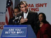 Republican Senate candidate Ted Cruz generally has ignored Sadler, focusing instead on conservative outlets and even helping Republicans running elsewhere.