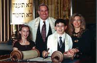 From left, Lauren, Louis, David and Robin Zweig.
