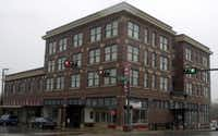 This is the Rogers Hotel in downtown Waxahachie, built in 1912.File 2002  -  Staff Photo