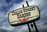 Collin Street Bakery in Corsicana.MICHAEL MULVEY