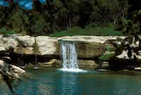The upper falls at McKinney Falls State Park in Austin, Texas.Texas Parks & Wildlife