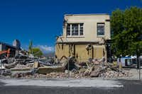 The massive earthquake that hit on February 22, 2011 destroyed much of Christchurch, New Zealand's downtown core.