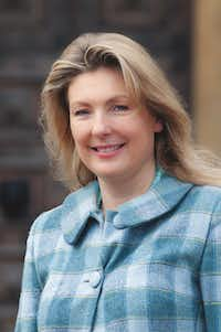 Lady Carnarvon is frequently seen by visitors to Highclere Castle.