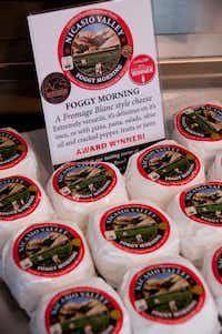 Foggy Morning  is one of Nicasio Valley Cheese Co.'s cheeses.April Orcutt  -  Special Contributor