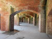 Fort Massachusetts has survived multiple hurricanes and more than 150 years on the slip of sand known as Ship Island.Bruce N. Meyer -  Bruce N. Meyer