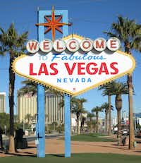 The famous 'Welcome to Fabulous Las Vegas' sign has cut the cord and gone green. The iconic sign, located in a traffic median at the south end of Las Vegas Boulevard, is now powered solely by the sun.