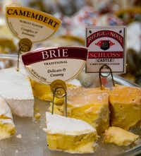 Visitors can sample a number of handmade artisan cheeses at the Marin French Cheese Company nine miles southwest of Petaluma, Calif.April Orcutt