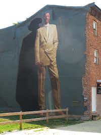 """Dr. J. (Julius Erving)"" is depicted in a mural painted on a walls of Philadelphia building. Since 1984 over 3,800 murals have been created on the sides of Philadelphia's edifices. One can see them by foot, car or bicycle, but we opted for a guided trolley tour."