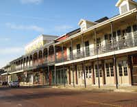 French Quarter? No, it's Front Street, the main street in the historic district in Natchitoches, La.