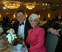 Eric and Christine Brauss' philanthropy was often mentioned in The Dallas Morning News. In 2005, they attended the Hope for Humanity Tribute Dinner. In 2009, she filed for divorce.File