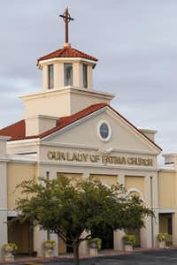 Ebola victim Nina Pham's family belongs to Our Lady of Fatima Church in Fort Worth.Jim Tuttle - Staff Photographer