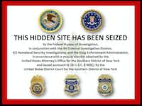 An undated screenshot of a message recently visible on the Silk Road website, a popular online black market for drugs. Federal authorities have charged Ross Ulbricht, who was arrested by FBI agents at a library in San Francisco, with running the site.HANDOUT - NYT