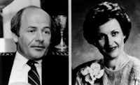 Walker Railey (left) and Peggy Railey