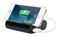 The Justin power bank lets Dad video chat or watch movies hands free while recharging his electronic devices. A universal 2.1A USB connection allows quick recharging of all USB devices. $29.99 at Kohl's, multiple locations.Innovative Technology  - Innovative Technology