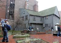 The circa-1680 wooden house of Paul Revere, downtown's oldest building, is a notable spot on the Freedom Trail.File 2004  -  The Associated Press