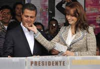 Enrique Peña Nieto married soap opera star Angélica Rivera in 2010, underscoring an image of him as a ladies' man who grew up surrounded by beautiful, strong-willed women.