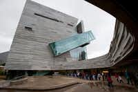 Grey Sargent, 6, Dallas, enjoyed his visit to the Perot Museum of Nature and Science, which opened Dec. 1.