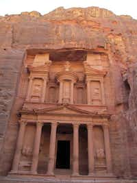 Though legend has it that the Treasury was where riches were hidden, it was actually a burial building.Amir Bibawy  -  The Associated Press