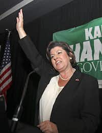 Karen Handel (above), a former candidate for Georgia governor and Komen's senior VP for public policy, had nothing to do with the decision, CEO Nancy Brinker said.