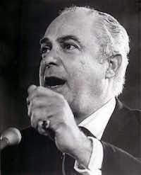 Democratic National Chairman Robert Strauss.Associated Press