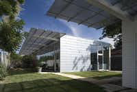 Architect Ron Wommack's own residence near Oak Lawn won a Dallas AIA award.