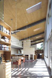 A modernist farmhouse in McKinney, Texas designed by Ron Wommack.