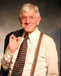 """Jerry Russell had the title role in """"Clarence Darrow"""" at Stage West earlier this year."""