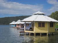 Mango Creek Lodge is a self-sustaining eco-resort on Roatán.June Naylor