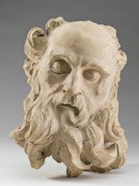 A model for a bust of St. Jerome