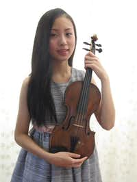 Samantha Choo, winner of the 2013-2014 GDYO Concerto Competition, will perform Oct. 27.