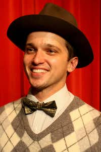 Garland Summer Musicals production of Singin in the Rain stars Carl DeForrest Hendin as Cosmo Brown.