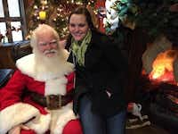 I got to revisit the same Santa in 2013 to find out what has brought him back to NorthPark for 25 seasons.Photo submitted by TAYLOR DANSER
