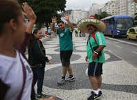 Brazil is hosting  the World Cup, which started Thursday and continues through July 13.Joe Raedle  -  Getty Images