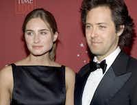Lauren Bush, daughter of Neil Bush, and her husband, David Lauren, son of fashion designer Ralph Lauren, are a photographer's dream.