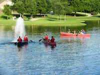 Family Fun Fridays, including free canoe rides, games, activities, movies and more, at a different neighborhood park in Rockwall, begins June 7 and runs for six weeks.