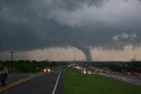 An outbreak of tornado-producing storms tore through North Texas on April 3, 2012.