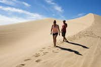 The Glamis Dunes are a popular section that draws visitors with the area's most open camping space.Josh Morgan  -  Orange County Register