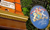 The Fitzroy Tavern in London, England hosts a regular Doctor Who gathering.